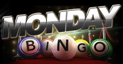 image block with text: Monday bingo